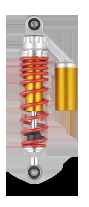 รถจักรยานยนต์ (รถยนต์ไฟฟ้า) ระบบกันสะเทือนอากาศด้านหลัง QL-GBR-007-36